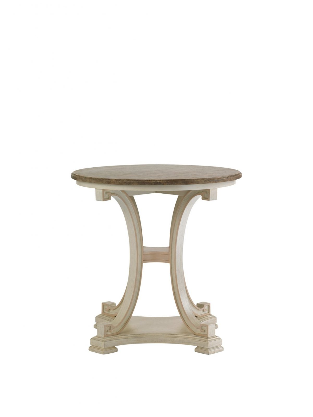 Preserve Myrtle round lamp table