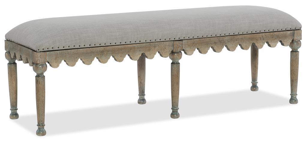 Madera bed bench