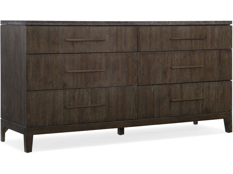 Miramar Aventura Raphael Six- Drawer Dresser